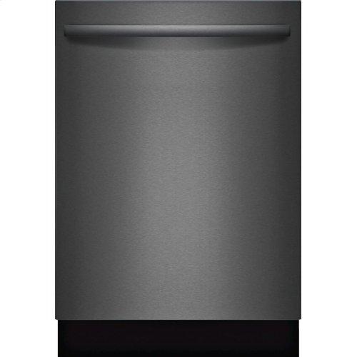 800 Series built-under dishwasher 24'' Black stainless steel SHXM78W54N
