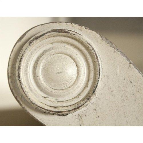 Huntleigh - King/california King Sleigh Upholstered Headboard - Vintage White Finish