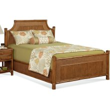 Summer Retreat Arched King Bed
