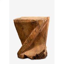 Forebay Wood Stool (12x12x16)