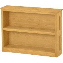 Wide Bookcase, Short