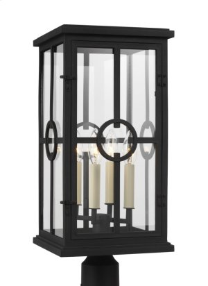 4 - Light Outdoor Post Lantern Product Image