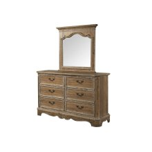 1048 Cottage Charm Dresser with Mirror