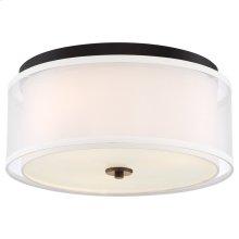 Studio 5 - 3 Light Flush Mount