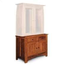 "Aspen Hutch Base with Inlay, 45 1/2""w, Aspen Hutch Base, 45 1/2""w, 19"" Base"