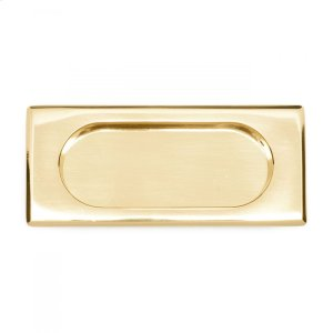 Thick Rectangle Flush Pull Product Image