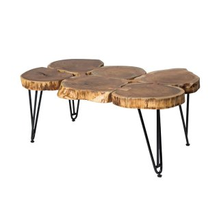 Deschutes 6 Log Coffee Table