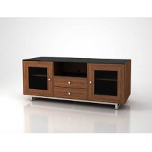 """AV Stand For TVs up to 70"""" and 150 lbs / 68 kg - Natural Walnut"""
