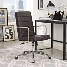 Cavalier Highback Office Chair in Brown