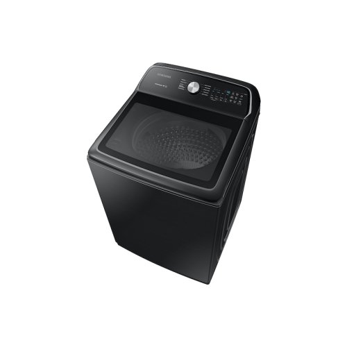 5.4 cu. ft. Top Load Washer with Active WaterJet in Black Stainless Steel