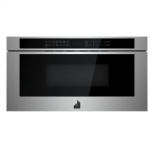 """RISE 24"""" Under Counter Microwave Oven with Drawer Design"""