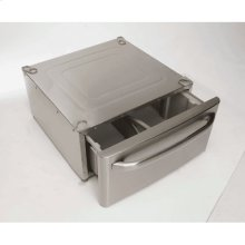 Stainless Steel Laundry Pedestal with Drawer