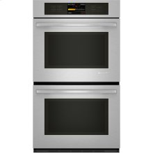 "Double Wall Oven with V2™ Vertical Dual-Fan Convection System, 30"", Euro-Style Stainless Handle"