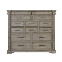 Madison Ridge 14 Drawer Master Chest in Heritage Taupe Product Image