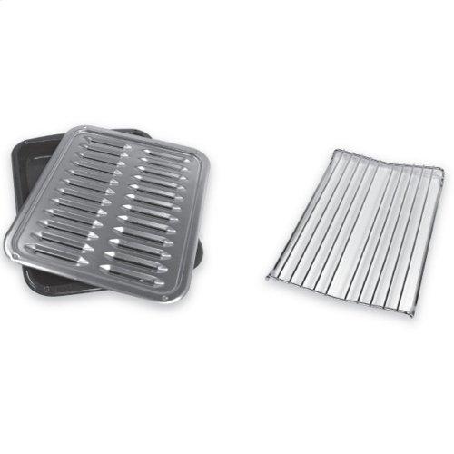 Premium Broil Pan & Roasting Rack - Other