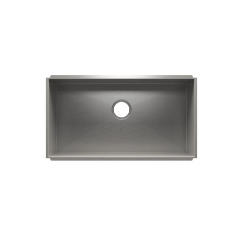 """UrbanEdge® 003670 - undermount stainless steel Kitchen sink , 33"""" × 16"""" × 8"""""""