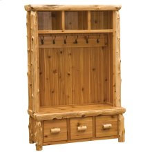 Entry Locker Unit - Natural Cedar