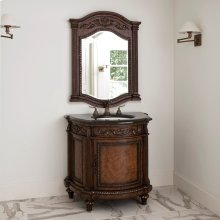 Demilune Sink Chest - Dark