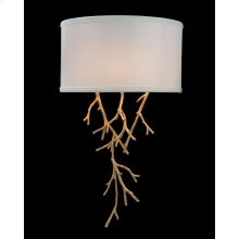 Prana: Spiked Branch Single-Light Sconce