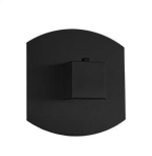 "3/4"" Thermostatic Valve SQU + SAFIRE - Black Product Image"