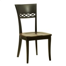 Model 25 Side Chair Wood Seat