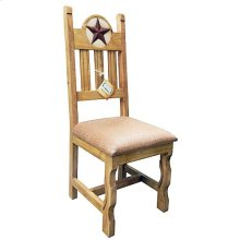 Padded Marble Star Chair