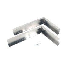 Microwave Hood Panel Kit - Stainless Steel