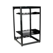 "35"" Tall AV Rack 20U Stackable Skeleton Rack"