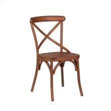 X Back Side Chair - Orange
