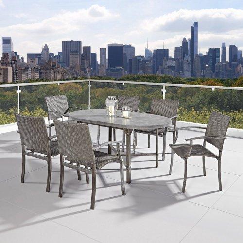 Urban Outdoor 7PC Dining Set