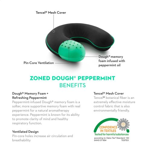 Travel Neck Zoned Dough Peppermint - Travel Neck
