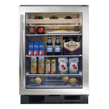 UC-24BG Beverage Center - Classic Stainless