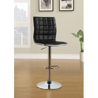 Rain Adjustable Bar Stool Black