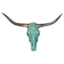 Turq Jeweled Head