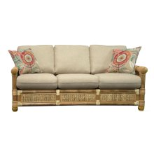 Sofa, Available in Natural Finish Only.
