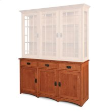 "Prairie Mission Hutch Base, Large, Prairie Mission Hutch Base, 61 1/2"", 18"" Base"
