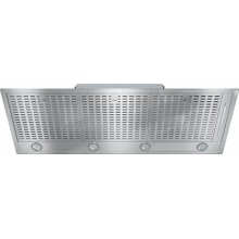 DA 2518 Insert ventilation hood with energy-efficient LED lighting and backlit controls for easy use.