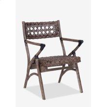 Sahara Arm Chair - Grey Wash (K/D) (21x24x33.4)