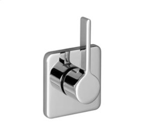 Wall mounted two- and three-way diverter trim - chrome Product Image