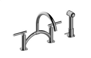 Sospiro Bridge Bar/Prep Faucet w/ Independent Side Spray Product Image