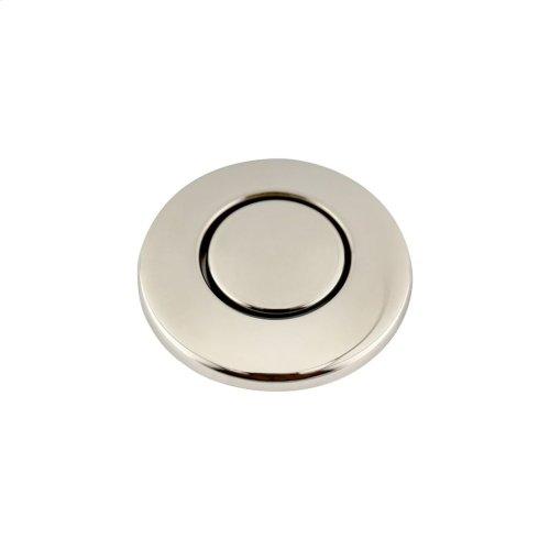 SinkTop Switch Button - Polished Nickel