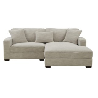 Repose Sectional Silver