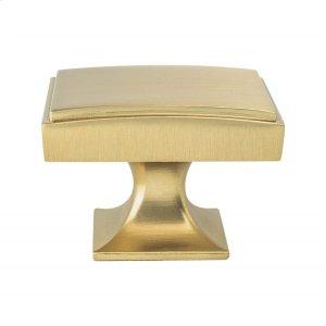 Hearthstone Modern Brushed Gold Knob Product Image