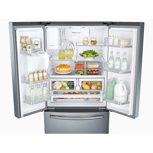 26 cu. ft. 3-Door French Door Refrigerator with CoolSelect Pantry in Stainless Steel