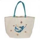 Sequined Mermaid Canvas Tote Product Image