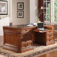 GRAND MANOR GRANADA Double Pedestal Executive Desk Product Image