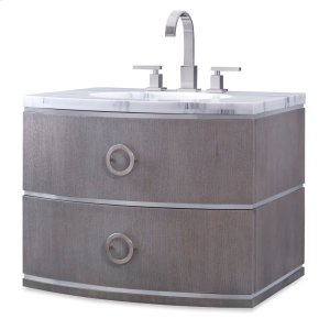 Cirque Wall Sink Chest - Grey Product Image