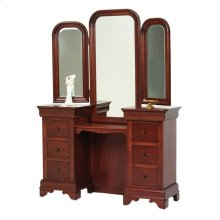 Louis Phillipe Vanity- Tri Mirror