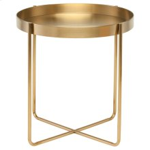 Gaultier Side Table  Gold