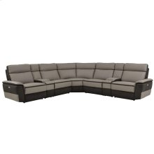 7-Piece Modular Power Reclining Sectional